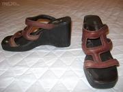 продам туфли-сабо лето кожа  38 Бразилия слегка б/у