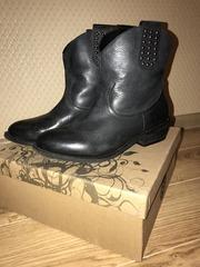 Сапоги ботинки Svetski 39-40 из натуральной кожи новые продам Москва